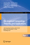 Bio-inspired Computing Theories And Applications