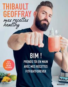 Mes recettes healthy La couverture du livre martien