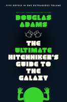 Douglas Adams - The Ultimate Hitchhiker's Guide to the Galaxy artwork