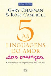 As 5 linguagens do amor das crianças Capa de livro