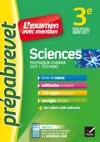 Sciences 3e Physique-chimie SVT Techno - Prpabrevet Lexamen Avec Mention