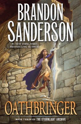 Oathbringer - Brandon Sanderson book