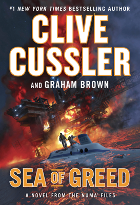 Sea of Greed - Clive Cussler & Graham Brown book