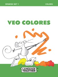 Spanish Colors Read Aloud Book Spanish Set One