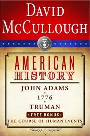 David McCullough American History e-book Box Set PDF Download