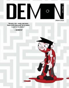 Demon, Volume 2 Copertina del libro