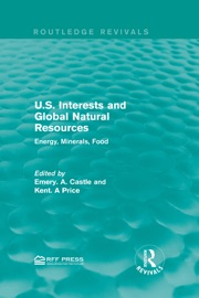 U S Interests And Global Natural Resources