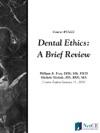 Dental Ethics A Brief Review