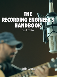 The Recording Engineer's Handbook 4th Edition Cover Book