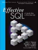 Effective SQL: 61 Specific Ways to Write Better SQL, 1/e