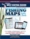 Michigan West Central Region Fishing Maps Guide Book