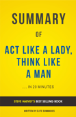 Act Like A Lady, Think Like A Man: by Steve Harvey | Summary & Analysis