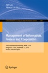 Management Of Information Process And Cooperation