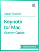 Apple Education - Keynote for Mac Starter Guide macOS Sierra artwork