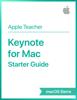 Apple Education - Keynote for Mac Starter Guide macOS Sierra artwork