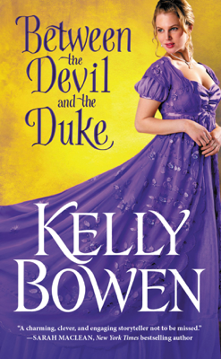Between the Devil and the Duke - Kelly Bowen book