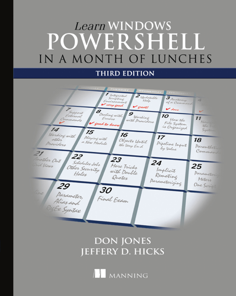 Download Learn Windows PowerShell in a Month of Lunches, Third Edition PDF Full