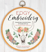 Edgy Embroidery Book Cover