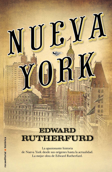 Nueva York by Edward Rutherfurd