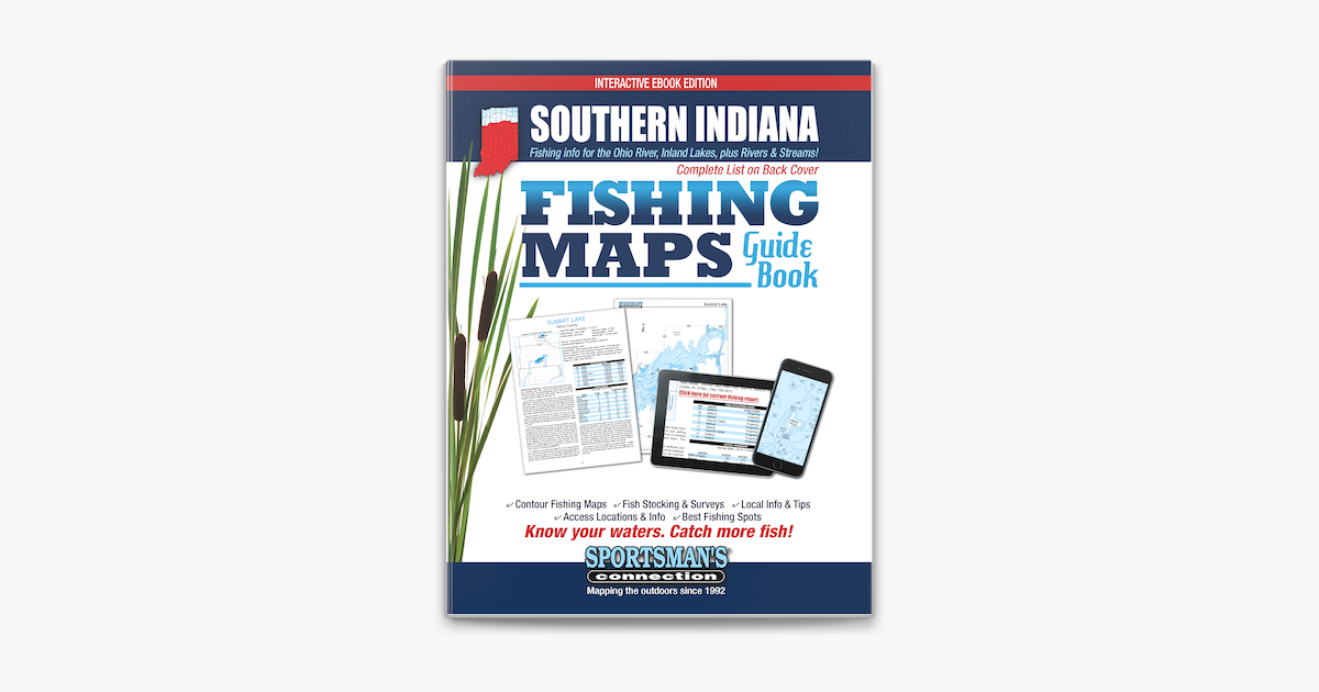 Southern Indiana Fishing Map Guide