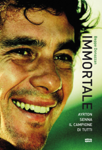 Immortale. Ayrton Senna il campione di tutti Libro Cover