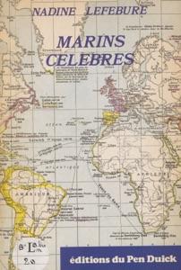 Marins célèbres di Nadine Lefebure Copertina del libro