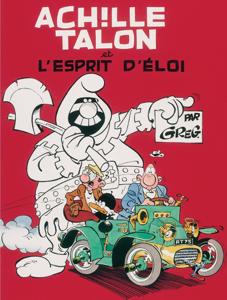 Achille Talon - tome 25 - Achille Talon et l'esprit d'Eloi La couverture du livre martien