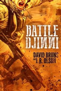 Battle Djinni Door David Bruns & J.R. Olson Boekomslag
