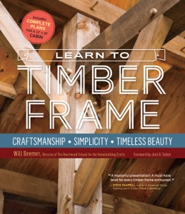 Learn to Timber Frame Book Cover