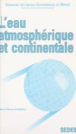 Download L'eau atmosphérique et continentale