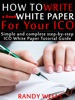 How To Write A Good White Paper For Your ICO