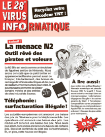 Le 28e Virus Informatique