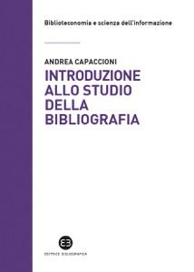 Introduzione allo studio della bibliografia Book Cover