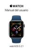 Apple Inc. - Manual del usuario de Apple Watch ilustraciГіn