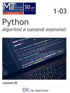Python - Algoritmi e comandi essenziali Copertina del libro