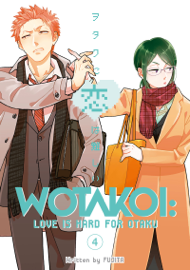 Wotakoi: Love is Hard for Otaku Volume 4
