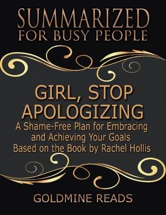 Girl, Stop Apologizing image