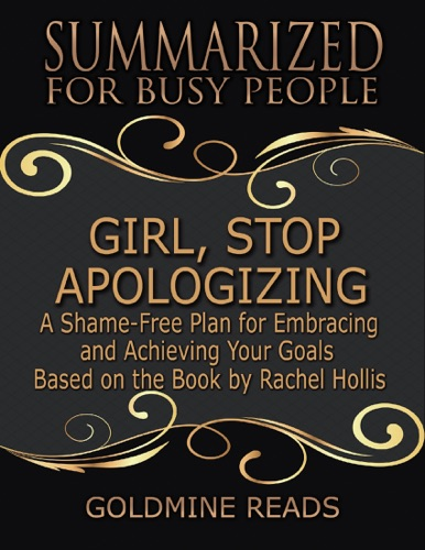 Goldmine Reads - Girl, Stop Apologizing