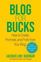 Jacqueline Bodnar - Blog for Bucks artwork