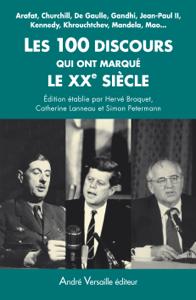 Les 100 discours qui ont marqué le XXe siècle La couverture du livre martien