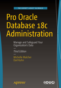 Pro Oracle Database 18c Administration La couverture du livre martien