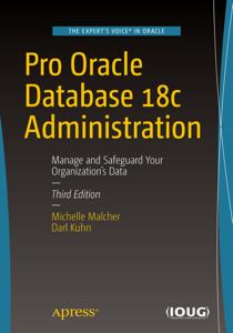 Pro Oracle Database 18c Administration La couverture du livre martien