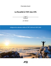 La Fiscalité à L'EFC Des CPA, 22e édition