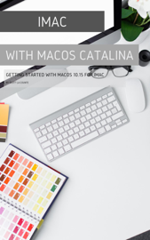 iMac with MacOS Catalina