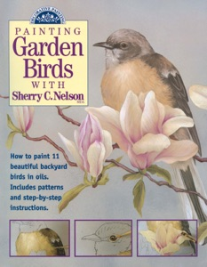Painting Garden Birds with Sherry C. Nelson Book Cover