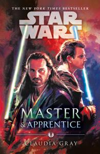 Master and Apprentice (Star Wars) Copertina del libro