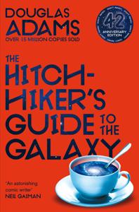The Hitchhiker's Guide to the Galaxy Copertina del libro