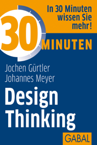 30 Minuten Design Thinking Libro Cover