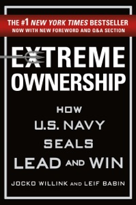 Extreme Ownership by Jocko Willink & Leif Babin Book Cover