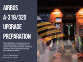 Airbus A319/320 Upgrade Preparation Book Cover